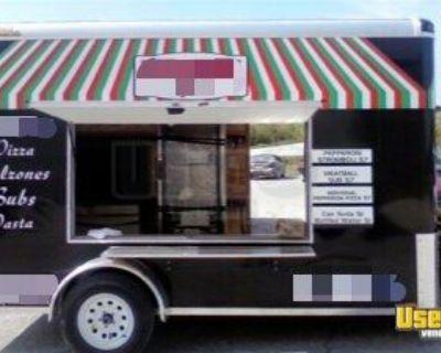 2015 - 6' x 12' Pizza Concession Trailer / Used Mobile Pizza Unit