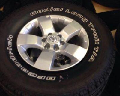 Nissan Xterra Wheels And Tires Original Factory 2005-2013 Frontier