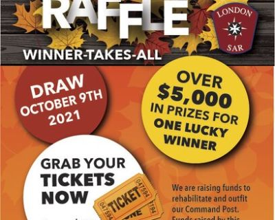 Fall Fun Raffle supporting The London Search and Rescue Team