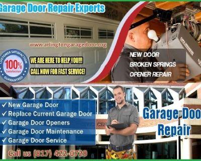 Expert New Garage Door Installation Arlington, TX