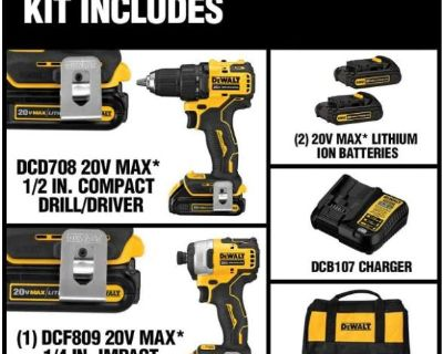 ATOMIC 20-Volt MAX Brushless Compact Drill/Impact Combo