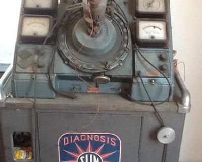 Vintage 1950s Sun Distributor Machine / Tester Md 1