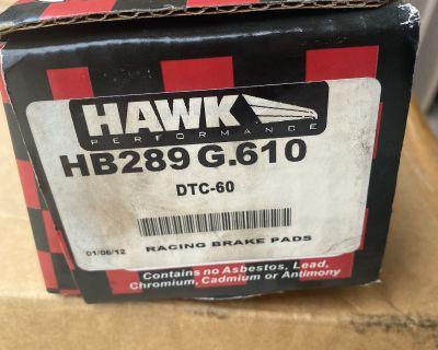 HAWK Brake Pads (Track), Boxster (1997-2008), Cayman (2006-2008) - #2