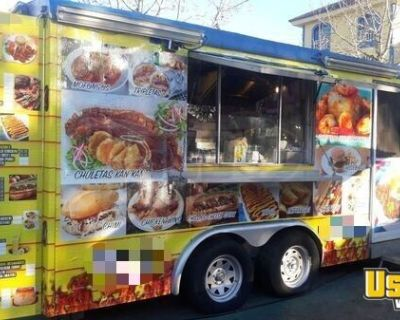 Fully Loaded Food Concession Trailer / Commercial-Grade Mobile Kitchen