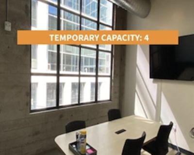 Private Meeting Room for 4 at Galvanize