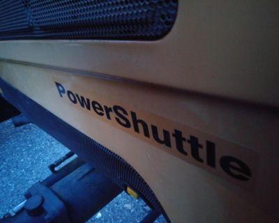 Challenger 256b diesel loader with backhoe