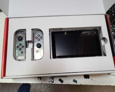 Clear case nintendo switch