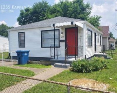1255 Kappes St, Indianapolis, IN 46221 2 Bedroom House
