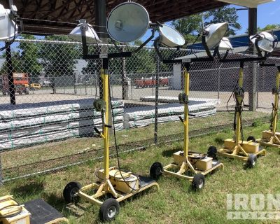Lot of (2) CEP Light Towers