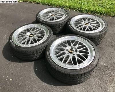 "19"" BBS LM Wheels & Tires"