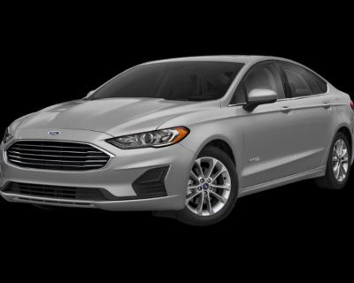 Pre-Owned 2019 Ford Fusion Hybrid SE With Navigation