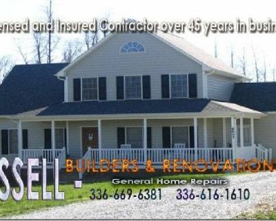 CASSELL-Builders & Renovations - Licensed and Insured Contractor over 45 years in business