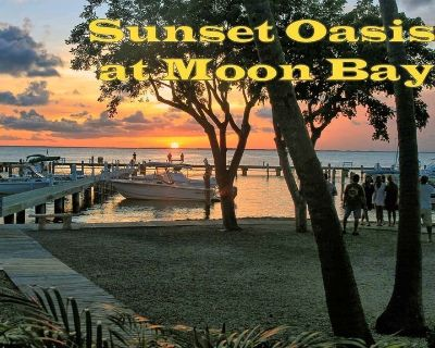 Sunset Oasis at Moon Bay-perfect townhouse location, bay view - Key Largo
