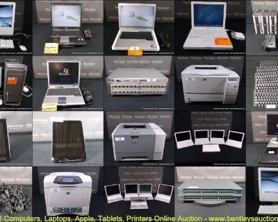 Online Auction-Computers, Laptops, Apple, Tablets & Printers