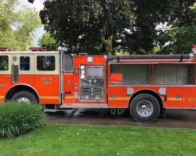 Fire truck food truck - Sutphen / Detroit / 1987