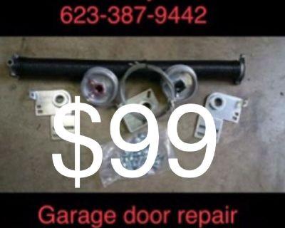 GreatdDoors&Gates Garage door spring repair WiFi openers install remotes 20yrsExp.