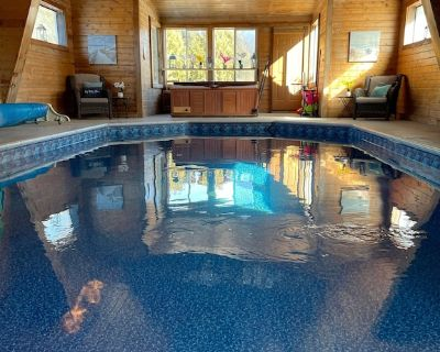 The Indoor Pool and Lodge at Heart and Soil Ridge - Dakota