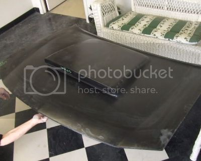 My VFN Fiberglass Six Pack Hood