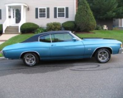 1972 Chevelle SS, #'s matching with only 29,500 miles!