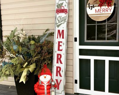 Christmas Porch Signs - 5