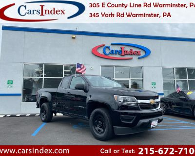 Used 2018 Chevrolet Colorado Work Truck Ext. Cab 2WD