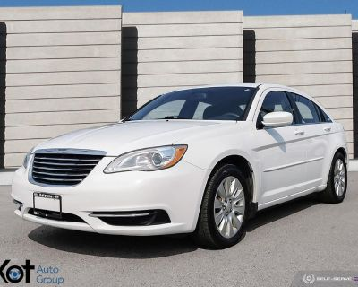 Pre-Owned 2012 Chrysler 200 LX! 1 OWNER! NO ACCIDENTS! 2 SETS OF TIRES! REMOTE STARTER! BEAUTY UNIT!
