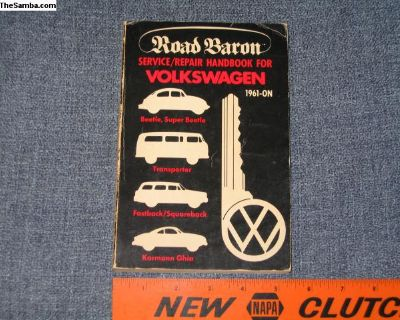 book Road Baron VW Repair Manual