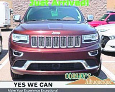 JEEP 2015 GRAND CHEROKEE Summit SUV, Automatic, 4 Wheel Drive, 8 Speed, 103k miles,...