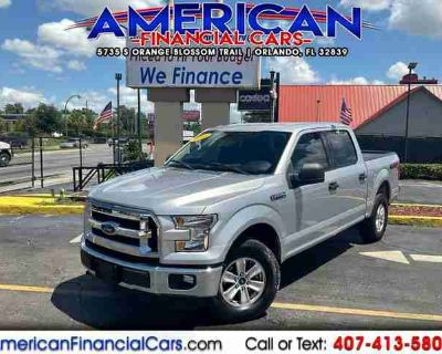 2016 Ford F150 SuperCrew Cab for sale