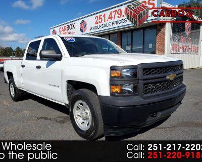 """2014 Chevrolet Silverado 1500 4WD Crew Cab 153.0"""" Work Truck w/1WT"""