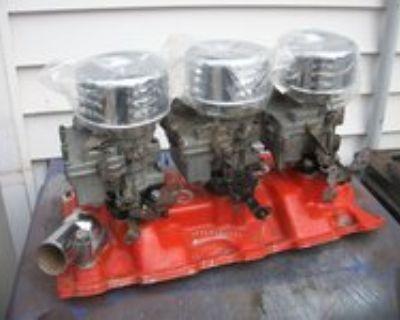 Chevy S/B 3x2's