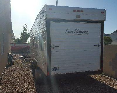 Carson Toy hauler trailer. 20'