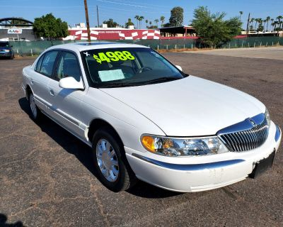 Used 2002 Lincoln Continental 4dr Sdn w/Personal Security