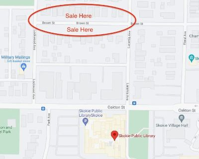 Estate Sale/Moving Sale on the same weekend as the Multi-Family Sale on our block