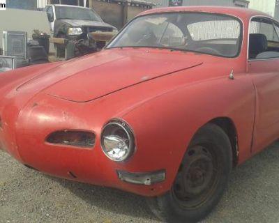 1971 Karmann Ghia parting out