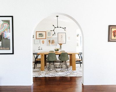 Eclectic Spanish Style Home - Great Light & Architectural Details, Pasadena, CA