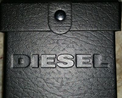 Diesel Watch with blue face