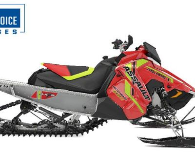 2021 Polaris 850 Switchback Assault 144 Factory Choice Snowmobile -Trail Mason City, IA