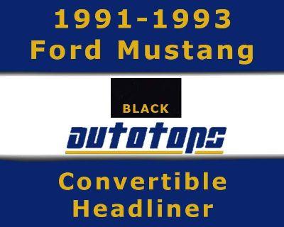 1991-1993 Ford Mustang Convertible Top Headliner Head Liner