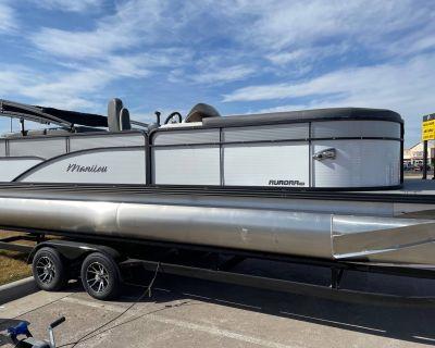 2021 Manitou 23 Aurora LE RF Pontoon Boats Rapid City, SD