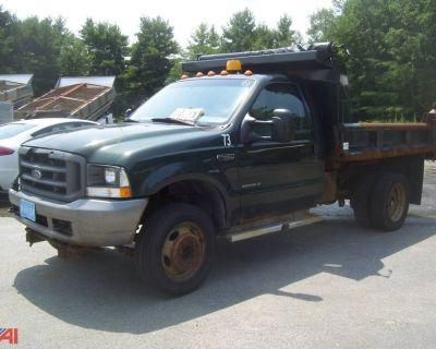 2003 FORD F450 SD Dump Trucks Truck
