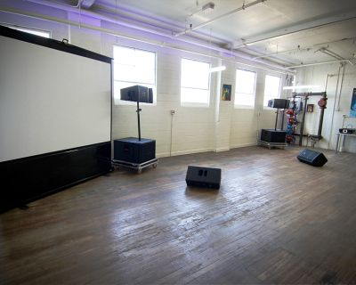 Film/photo Studio In Industrial Warehouse With Lots Of Natural And Controlled Light, Denver, CO