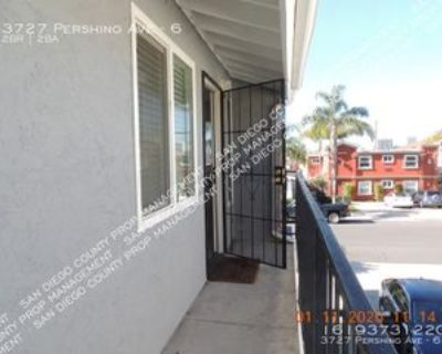 3727 Pershing Ave #6, San Diego, CA 92104 2 Bedroom Apartment