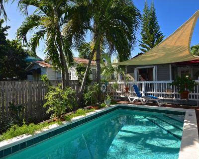 Breezy Florida home with shared swimming pool, dog-friendly - walk to beach! - Key West Historic District
