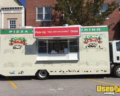 2016 Isuzu NPR HD LOADED TURNKEY Pizza Catering Truck