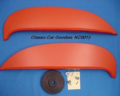 1964 Chevy Fender Skirts Fits All Models New Metal Pair