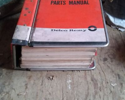 Vintage delco remy Parts Manual Volume 1 prices applications car models RARE