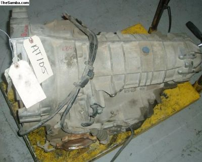 VW 1.8 Turbo used Automatic transmission: 5 speed
