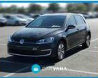 2017 Volkswagen e-Golf Black, 34K miles