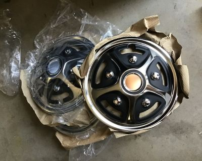 13-inch Chrome Plated Wheel Covers